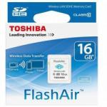 Toshiba SDHC Flash Air 16GB Class 10 SD-F16AIR03(8