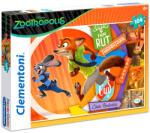 Clementoni Zootropolis: Állati nagy balhé 104 db-os (27968)