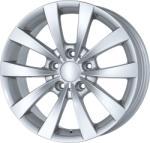 PLATIN P 83 silver CB72.6 5/120 17x8 ET30