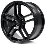 RH-Alurad BE Twin racing schwarz 5/114.3 16x7.5 ET45
