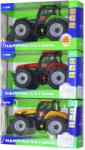 ROBENTOYS Tractor metal frictiune cu sunet si lumina (MK1015S)