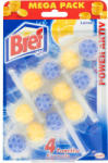 Bref Power Aktiv Lemon WC-frissítő 3x50g