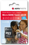 AgfaPhoto MicroSDHC 16GB Class 10 10580