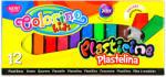 Patio Colorino Kids: négyszögletű gyurmakészlet - 12 db (TSZ-COJ57417)