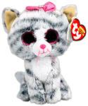 TY Inc Beanie Boos - Kiki, a szürke cica 15cm (37190)