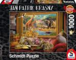 Schmidt Spiele A szavanna 1000 db-os (59335)