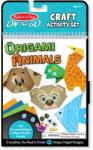 Melissa & Doug Hordozható origami állatkészítő Melissa & Doug