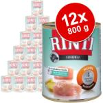 RINTI Sensible - Turkey & Potato 12x800g