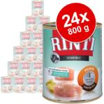 RINTI Sensible - Turkey & Potato 24x800g