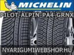 Michelin Pilot Alpin PA4 GRNX XL 285/35 R20 104V Автомобилни гуми