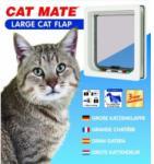 Cat Mate 221W 4 Funkciós Zárható Nagyméretű Macskaajtó - Fehér