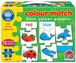 Orchard Toys Joc educativ - puzzle in limba engleza Invata culorile prin asociere COLOUR MATCH
