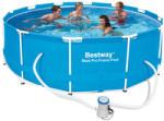 Bestway Elba/Steel Pro Frame fémvázas, kerti medence, vízforgatóval 366x100cm (FFA 691)