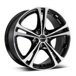 Borbet XL black polished 5/114.3 17x7.5 ET40