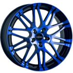 Oxigin 14 Oxrock Blue Polish 5/120 22x10 ET20