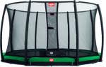 BERG Champion 430 süllyesztett trambulin Deluxe 430 védőhálóval