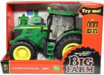 TOMY Big Farm - John Deere 6210R zöld traktor 1:16 (42837)