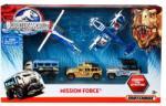 Mattel Matchbox - Jurassic World akciócsoport járműszett 5db-os