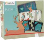 Avenue Mandarine Párosító puzzle - Alakzatok (52594O)