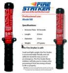 Fire Stryker szennyezõdésmentes tűzoltókészülék, 50 mp