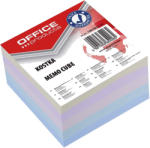 Office Products Cub din hartie color lipit lateral 8.5x8.5cm, 200 file, OFFICE PRODUCTS