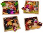 Eichhorn 9304079 - Mása és a medve - 8 db-os fa puzzle