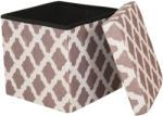 ARABESQUE Összehajtható, ülőkés tároló puff mozaik mintával - ARABESQUE