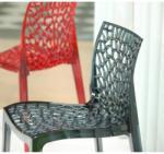 NEST Átlátszó Sötét Füstszínű szék - NEST