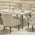 Ferrocom Palma kültéri asztal