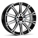 Borbet CW1 black polished 5/110 17x7 ET35