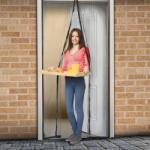 Delight Mágneses szúnyogháló függöny ajtóra, 100x210cm (11398)