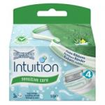 Wilkinson Sword Intuition Naturals Sensitive Care borotvabetét (3db)