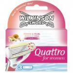 Wilkinson Sword Quattro for Women borotvabetét (3db)