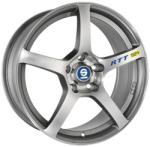 Sparco RTT 524 Matt Silver Tech Diamond Cut 5/108 17x8 ET45
