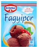 Dr. Oetker Csokoládés fagyipor (80g)