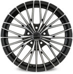 OZ Ego Matt Black Diamond Cut CB63.4 5/108 16x7.5 ET45