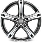 OZ X5B Matt Graphite Diamond Cut CB60.1 5/114.3 17x7.5 ET45
