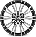 MSW 20/5 Matt Black Full Polished CB57.1 5/112 17x8 ET35