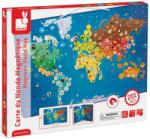 Janod Állatos mágneses világtérkép Janod