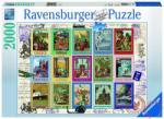 Ravensburger Souvenir bélyegek 2000 db-os (16602)