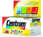 Centrum Junior A-Z-ig multivitamin rágótabletta - 30 db