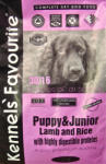 Kennels' Favourite Puppy & Junior - Lamb & Rice 3kg