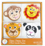 Bead Bazaar 4 darabos fa puzzle - állatkert Bead Bazaar (BEADBAZAAR8863)