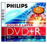 Philips DVD+R85 Dual-Layer 8x írható DVD lemez (DPHPDL)