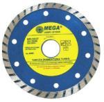 MEGA (5903755885258) Disc Diamantat Turbo 125mm - pcone Disc de taiere