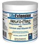 Life Extension Neuro-Mag Magnesium L-Threonate por - 225g