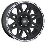 Pro Comp 7105 Flat Black 5/127 17x8 ET0