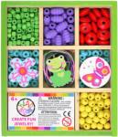 Bead Bazaar Mini gyöngykészlet fa dobozban - zöld kaland