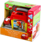 Playgo Csörgő tűzoltóautó zenélő indítóállomással (PLAYGO-2004-1)