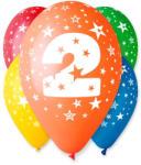 Party4U 2-es számos gumi lufi 5db